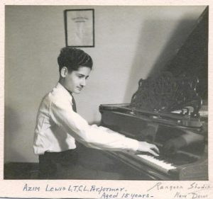 Azim Lewis at 15